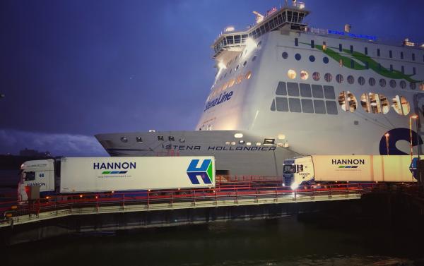 HANNON at Hoek van Holland
