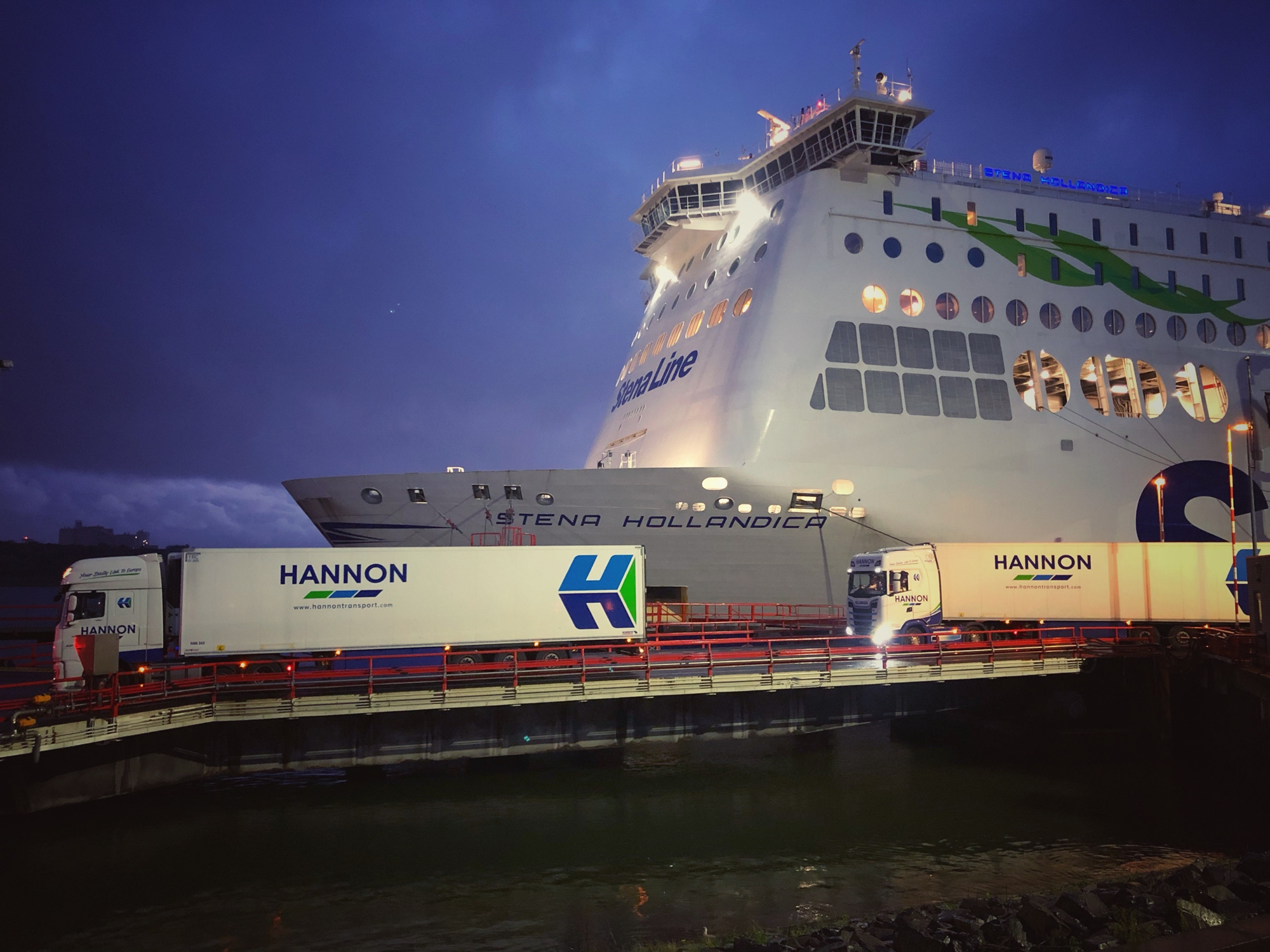 HANNON at Hoek van Holland