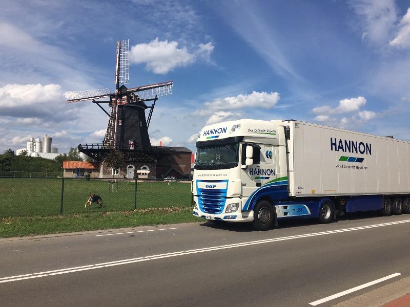 HANNON Truck in Cuijk, Netherlands