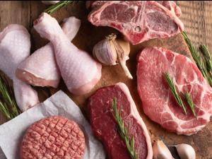Livraison de la viande réfrigérée et congelée