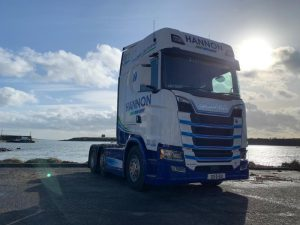 HANNON Truck on a recent Coastal Run