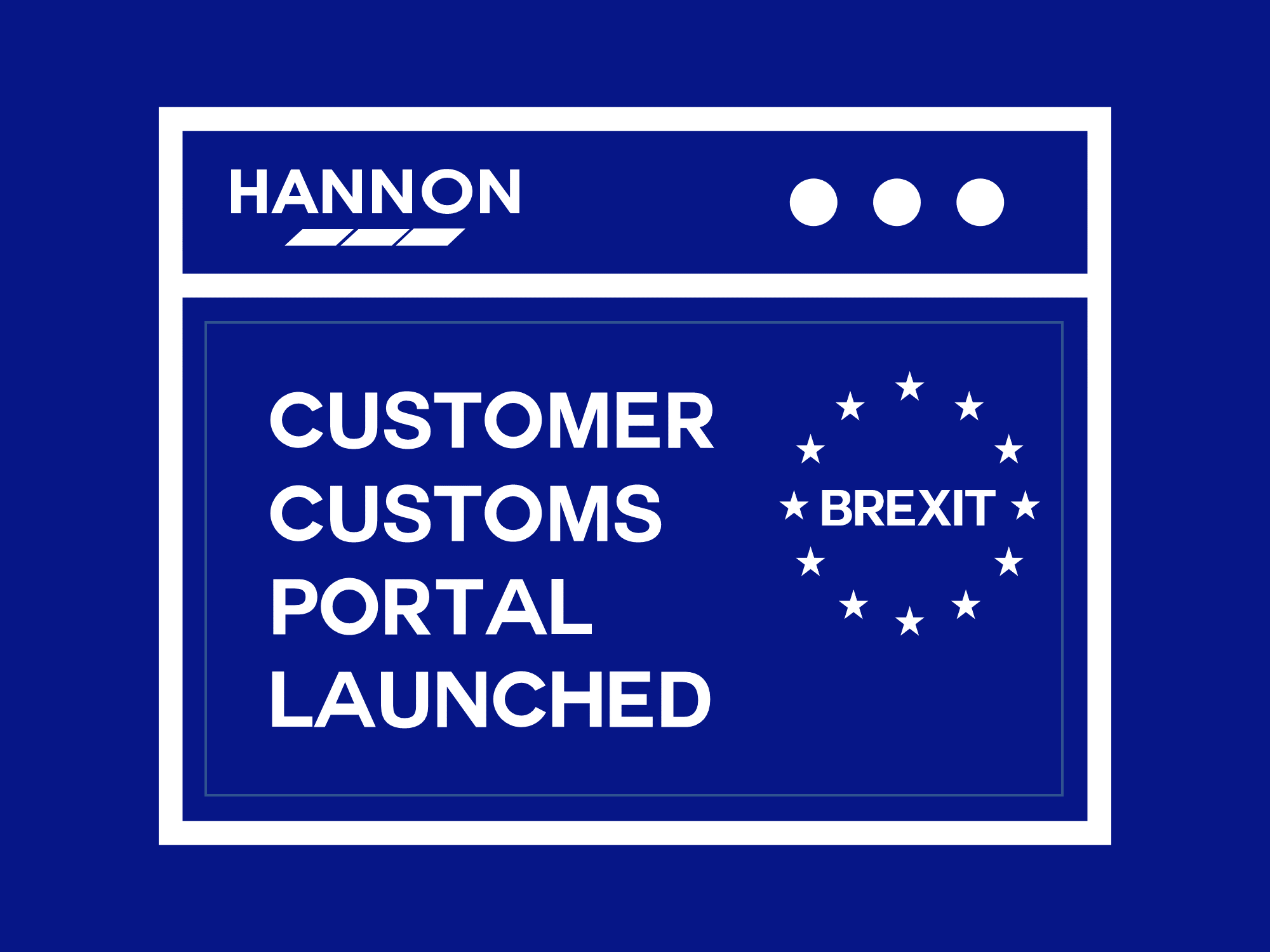 HANNON Customs Portal Launched
