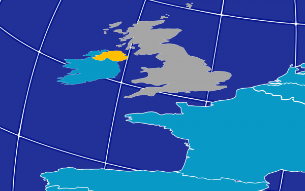 Great Britain, Ireland and EU Mainland