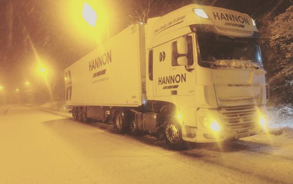 HANNON Truck in Snow