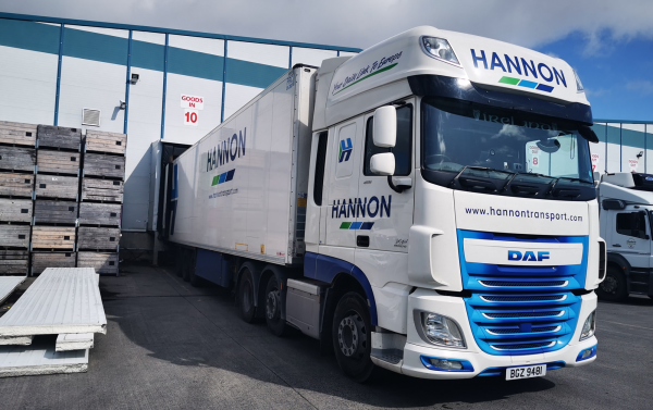 HANNON Delivery direct to Customer Depot